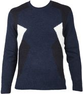 Neil Barrett Blue Sweater
