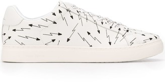 Paul Smith arrow print low-top sneakers