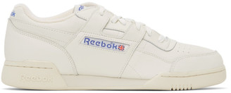 Reebok Classics Off-White Workout Plus 1987 TV Sneakers