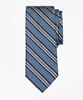 Brooks Brothers Natte Double Stripe Tie