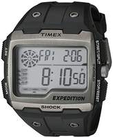 Timex Men's TW4B02500 Expedition Grid Shock Resin Strap Watch