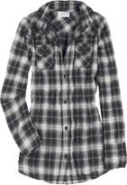 Cohen button-back cotton-blend shirt