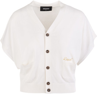 DSQUARED2 Woman Short Sleeves Cardigan