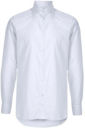 Ermenegildo Zegna Fine Check Print Shirt