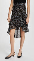 Veronica Beard Cella Midi Skirt