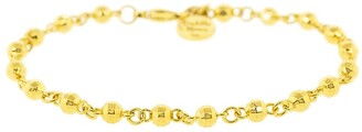 BUDDHA MAMA 20kt Yellow Gold Beaded Bracelet