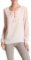 T Tahari Theora Beaded Blouse