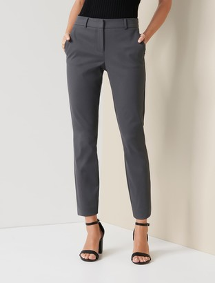 Forever New Mindy Petite 7/8th Slim Pants - Charcoal - 10