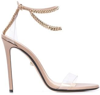 ALEVÌ Milano chain strap heels