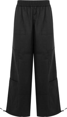 Wales Bonner striped wide leg trousers