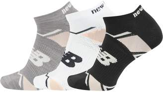 New Balance 3-Pack Elite Sport No-Show Socks