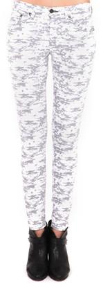 Rag & Bone Grey Camo Skinny Jean