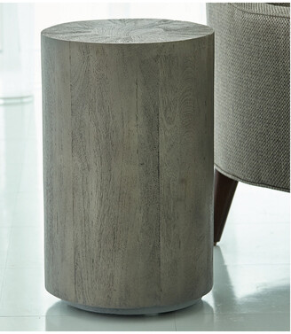 Global Views Driftwood Drum Table