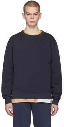 Acne Studios Navy Fairview Patch Sweatshirt