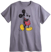 Disney Mickey Mouse Classic Heathered Tee for Men - Plus Size