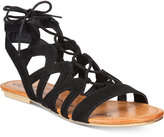 American Rag Marlie Lace-Up Sandals, Only at Macy's Women's Shoes