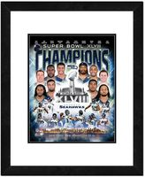 "Seattle Seahawks Super Bowl XLVIII Champions Composite Framed 22"" x 18"" Photo"