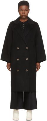 LOULOU STUDIO Black Borneo Coat