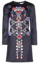 Mary Katrantzou Embellished Wool Dress