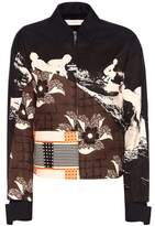 Victoria Beckham Patch printed bomber jacket