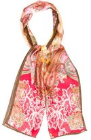 Adrienne Landau Silk Printed Scarf