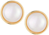 Majorica 14mm Simulated Mabe Pearl Stud Earrings