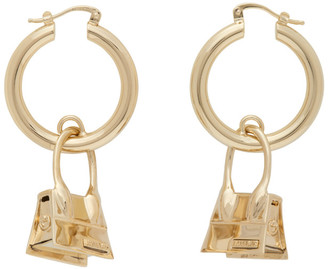 Jacquemus Gold Les Creoles Chiquito Earrings