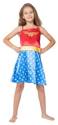 Intimo Girls' Nightgowns P795H - Wonder Woman Nightgown - Girls