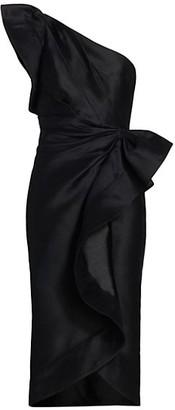 Acler Darcher Ruffle Midi Dress