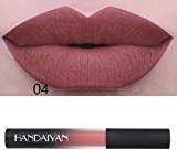 Outtop Waterproof Matte Liquid Lipstick All Day Lipcolor Set (A-4)
