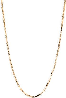 Bony Levy Flat Rolo Chain Necklace
