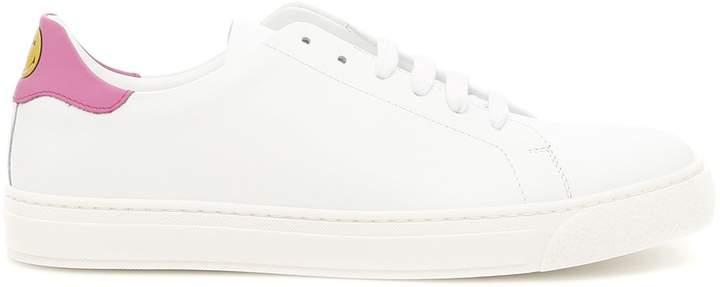 Anya Hindmarch Nappa Wink Sneakers