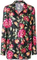 Dolce & Gabbana Rose Print Pajama Shirt