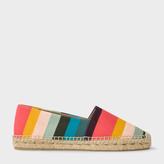 Paul Smith Women's Artist Stripe Cotton-Canvas 'Sunny' Espadrilles