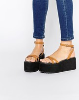 Asos TIP TOP Barely There Flatform Sandals