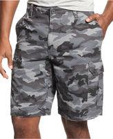 Club Room Shorts, Ripstop Camo Cargo Shorts