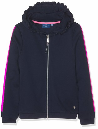 Tom Tailor Kids Girl's Sweatjacket Solid Sweat Jacket