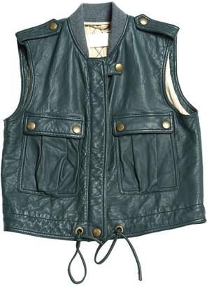 Chloé Grey Leather Jackets