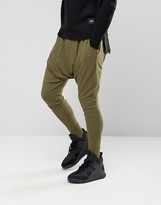 Sixth June Slouchy Skinny Joggers With Drop Crotch