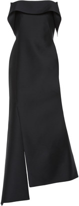 Lanvin Wool-Silk Midi Dress