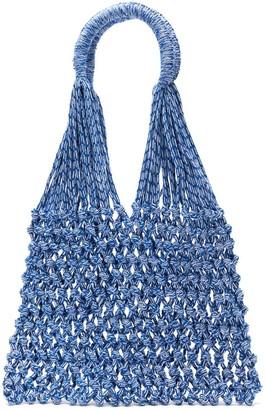 Nannacay Macrame Tote Bag