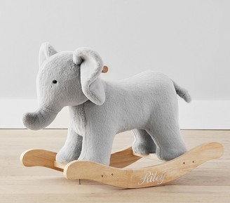 Pottery Barn Kids Elephant Critter Nursery Rocker