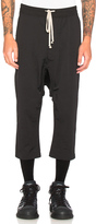 Rick Owens Cropped Sweatpants