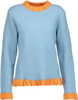 J.W.Anderson Ruffled bouclé sweater