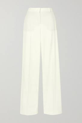 Loro Piana Cashmere-blend Wide-leg Pants - Cream