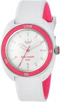 adidas Women's 'Stan Smith' Quartz Plastic and Silicone Casual Watch, Color: (Model: ADH3188)