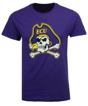 New Agenda Men's East Carolina Pirates Big Logo T-Shirt
