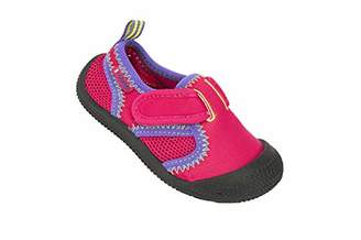 Cool shoe Unisex Kids' Submarine Beach & Pool Shoes, Pink (Fuschia 01130), 7.5UK Child