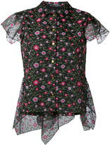 Kolor floral print blouse - women - Cotton/Polyester - 3