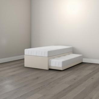 The White Company Single Divan & Guest Bed, White, Single